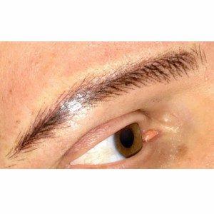 Maquillage permanent sourcils homme